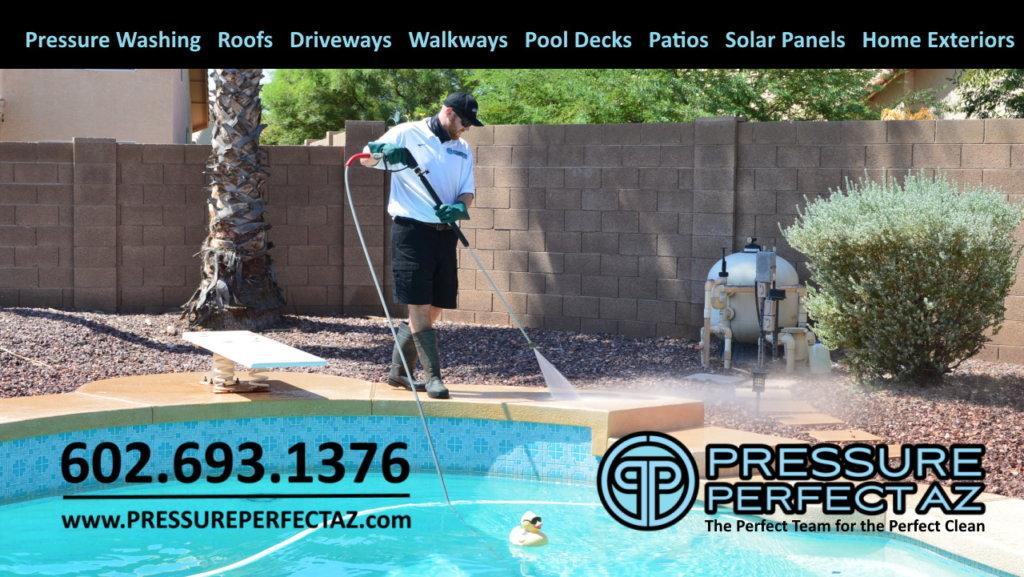 Pressure Perfect AZ pressure power washing cleaning and sanitation Avondale Arizona Phoenix West Valley