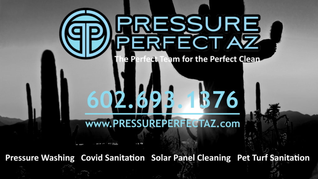 Professional pressure washing and Covid-19 sanitation and disinfecting in Phoenix Arizona